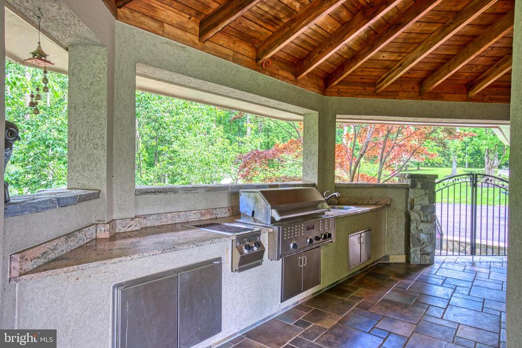Chefs professional BBQ station - 40310 HURLEY LN, PAEONIAN SPRINGS