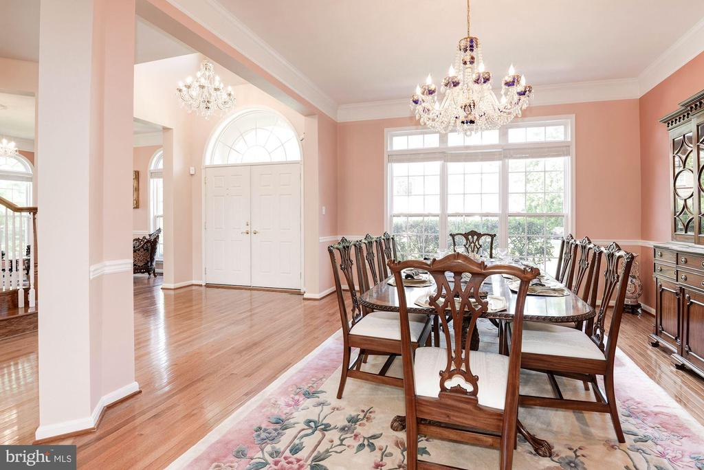 Dining Room - 7104 AYERS MEADOW LN, SPRINGFIELD