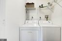 Basement Laundry Closet - 7104 AYERS MEADOW LN, SPRINGFIELD