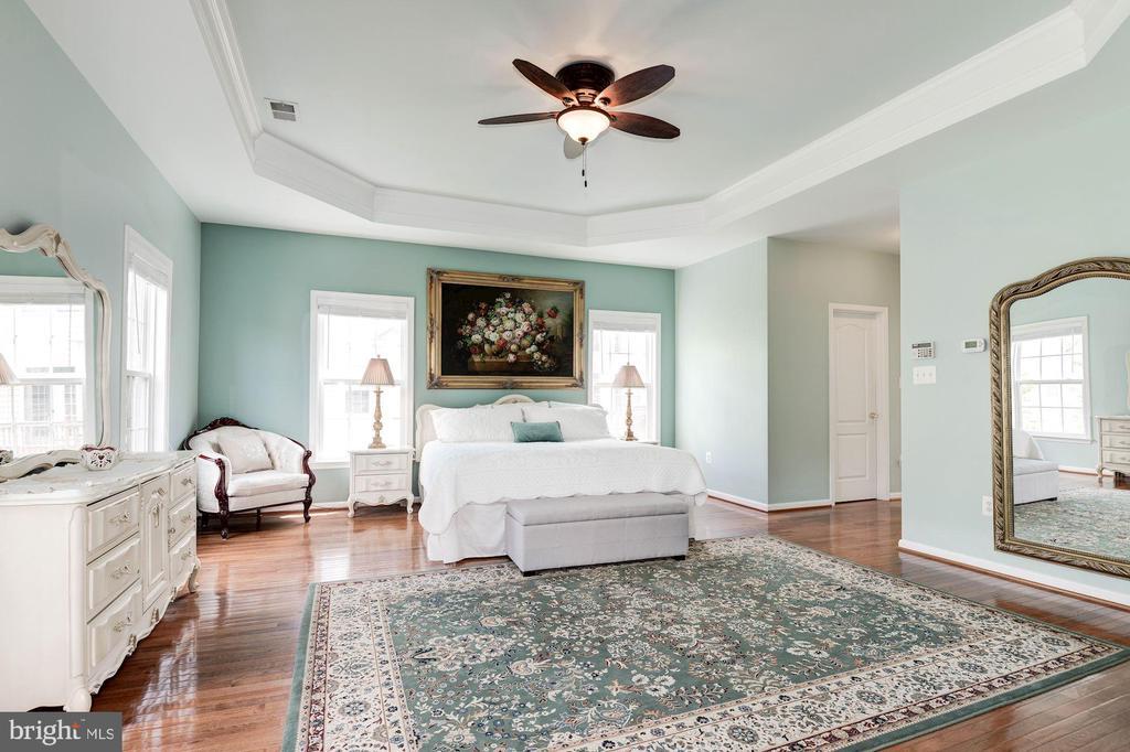 Master Bedroom - 7104 AYERS MEADOW LN, SPRINGFIELD