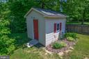Shed with Electric - 10107 BALLSTON RD, FREDERICKSBURG