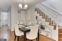 Gorgeous hardwood floors - 420 N COLUMBUS ST, ALEXANDRIA