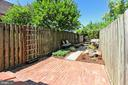 Step outside and enjoy this restful space - 420 N COLUMBUS ST, ALEXANDRIA