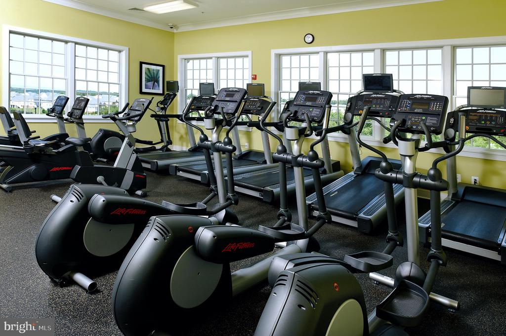 Fitness Center - 8903 AMELUNG ST, FREDERICK