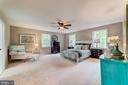 Skipped right to the master bed - 5696 GAINES ST, BURKE