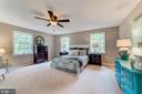 HUGE master bed has walk-in & ensuite - 5696 GAINES ST, BURKE