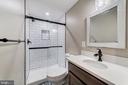 Lower level full bath - 5696 GAINES ST, BURKE