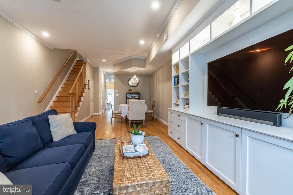 Living Room - 1839 9TH ST NW, WASHINGTON