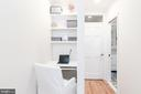Master Bedroom Office Area - 1839 9TH ST NW, WASHINGTON