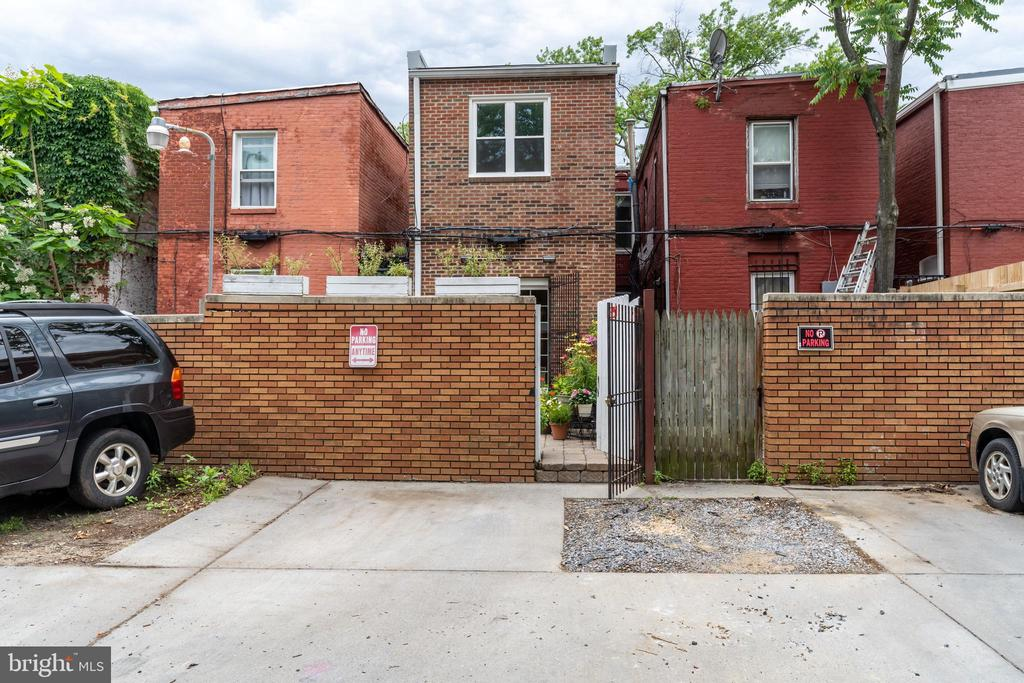Alley Parking -See Agent for Details* - 1839 9TH ST NW, WASHINGTON