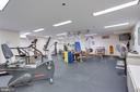 exercise room - 1300 CRYSTAL DR #1306S, ARLINGTON