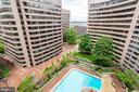 exterior views - 1300 CRYSTAL DR #1306S, ARLINGTON