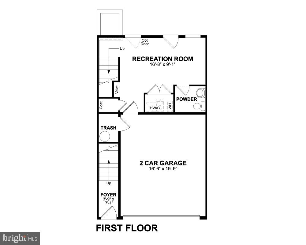 First Floor - 1018 SOUTH TAYLOR CT, ARLINGTON