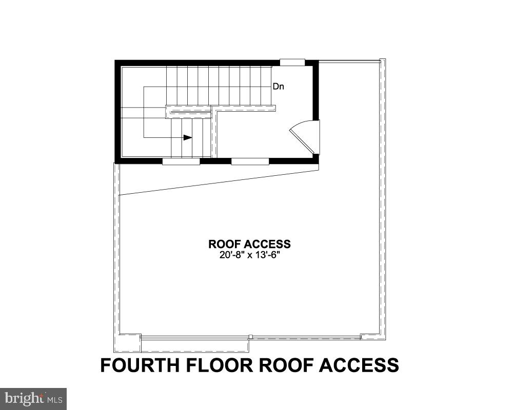 Fourth Floor Roof Access - 1234 SOUTH TAYLOR ST, ARLINGTON