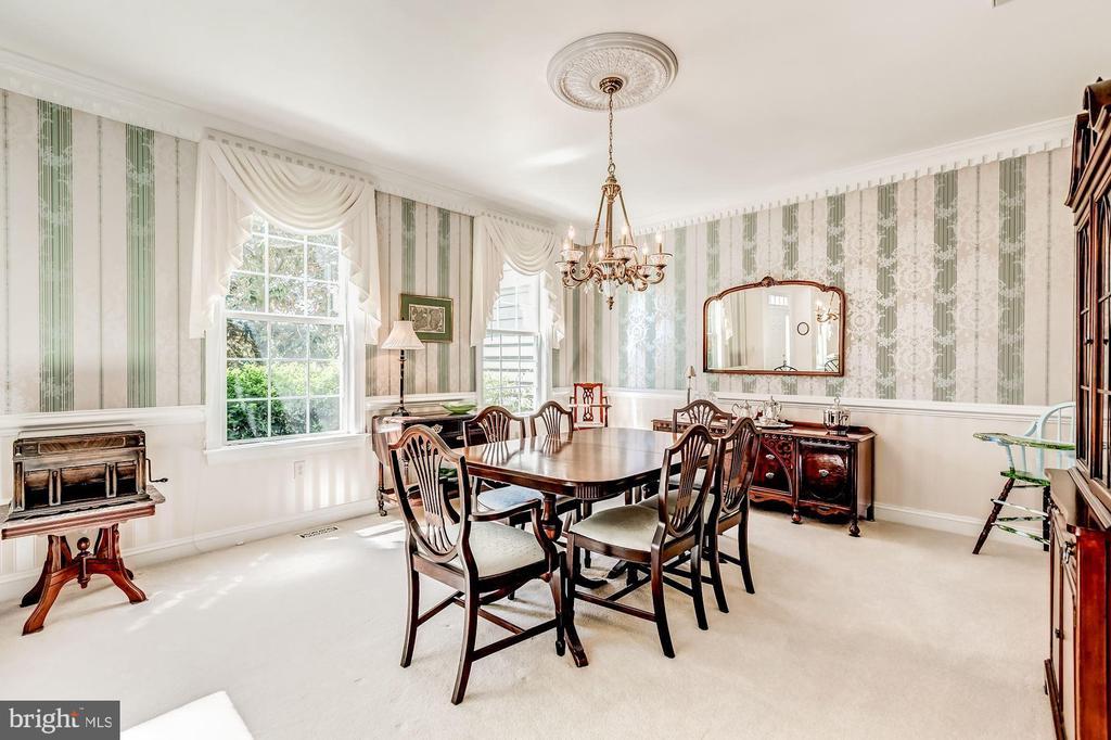 Fabulous Dining Room for Entertaining - 37986 KITE LN, LOVETTSVILLE