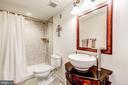 Updated Lower Level Bath - 37986 KITE LN, LOVETTSVILLE