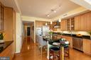 Granite countertops for preparing meals - 7710 WOODMONT AVE #802, BETHESDA