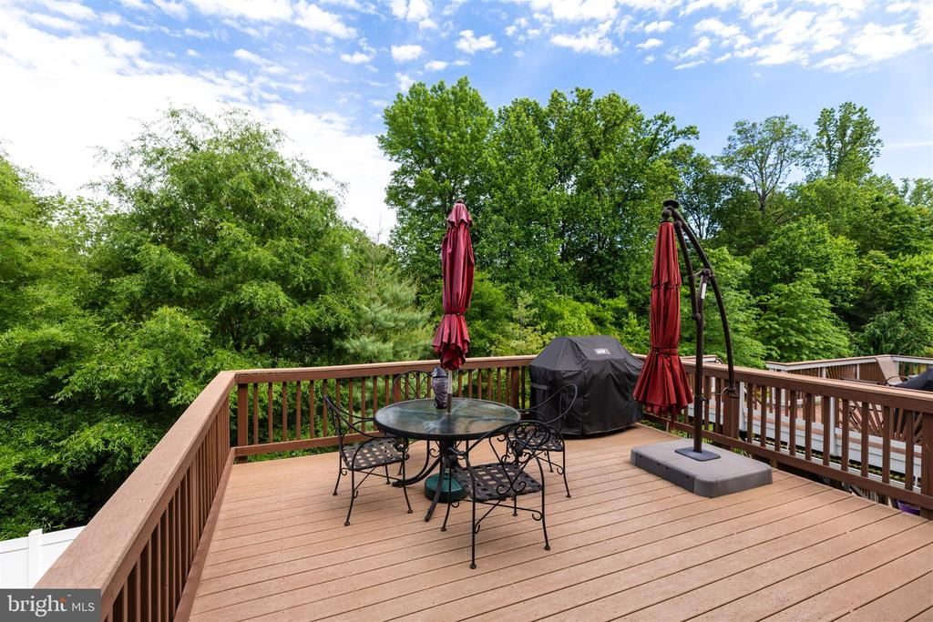 Deck - 7676 OAK FIELD CT, SPRINGFIELD