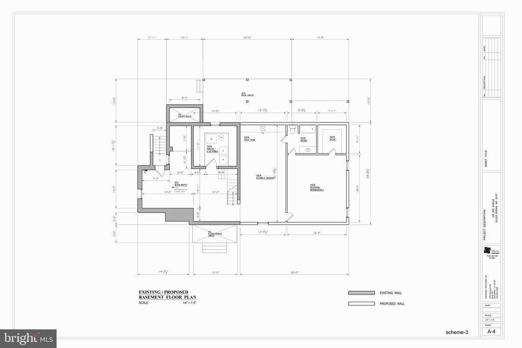 Basement Floor Plan - 9000 2ND AVE, SILVER SPRING