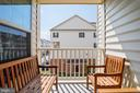Balcony Deck - 4886 HITESHOW DR, FREDERICK