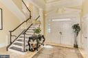 Gracious Foyer with 13~ ceiling and Custom Millwor - 1303 14TH ST N, ARLINGTON