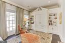 Owner~s Suite with custom built-ins - 1303 14TH ST N, ARLINGTON