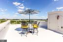 Rooftop Terrace with Potomac River Viiews - 1303 14TH ST N, ARLINGTON