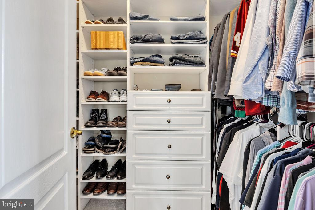 Custom walk-in closets - 19544 ROYAL AUTUMN LN, LEESBURG