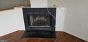 Stunning corner wood burning fireplace - 301 S REYNOLDS ST #601, ALEXANDRIA
