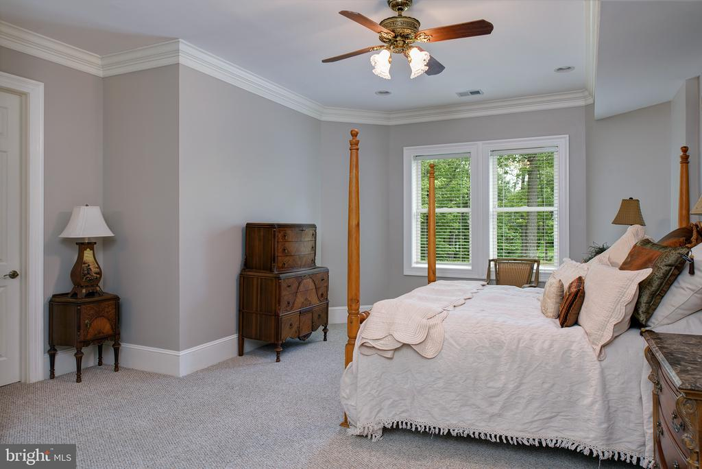 This bedroom is private on this side of the home - 41430 FOX CREEK LN, LEESBURG