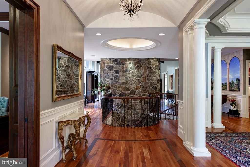 The glorious view from the entryway - 41430 FOX CREEK LN, LEESBURG