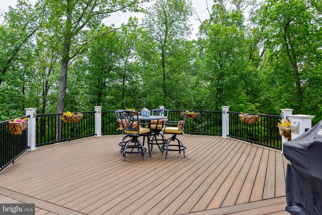 This area is gazebo ready with weight rated pilons - 41430 FOX CREEK LN, LEESBURG