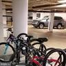 Handy bicycle racks in garage - 301 S REYNOLDS ST #601, ALEXANDRIA