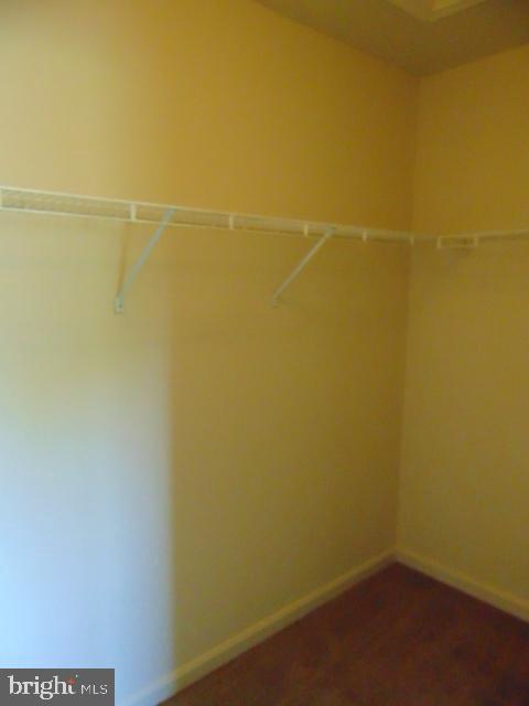 Master closet - 12027 PANTHERS RIDGE DR, GERMANTOWN