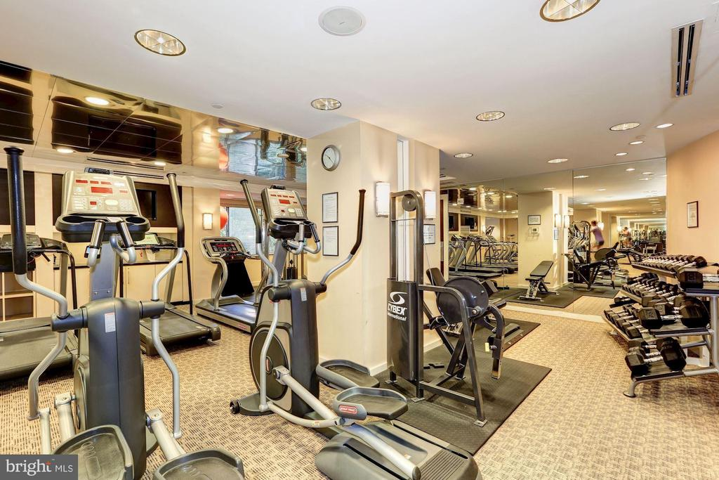 Fitness center - 11710 OLD GEORGETOWN RD #317, ROCKVILLE