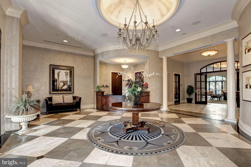 Lobby - 11710 OLD GEORGETOWN RD #317, ROCKVILLE