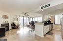Open floor plan (2018) - 11710 OLD GEORGETOWN RD #317, ROCKVILLE