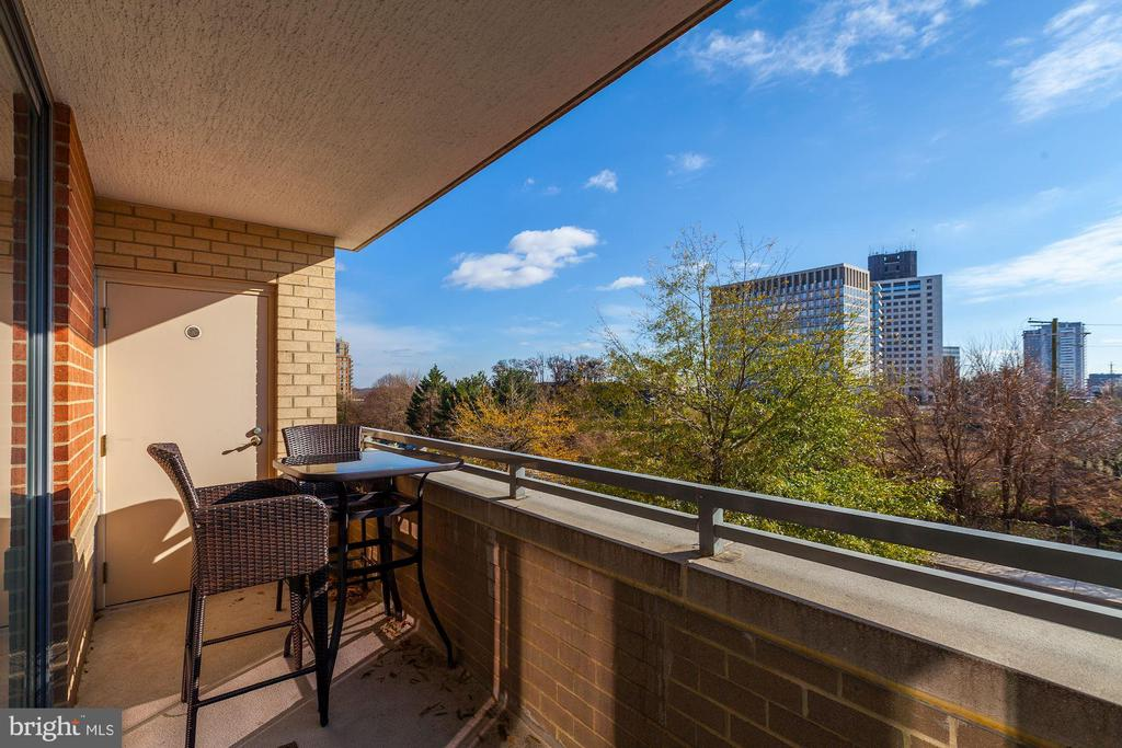 Balcony - 11710 OLD GEORGETOWN RD #317, ROCKVILLE
