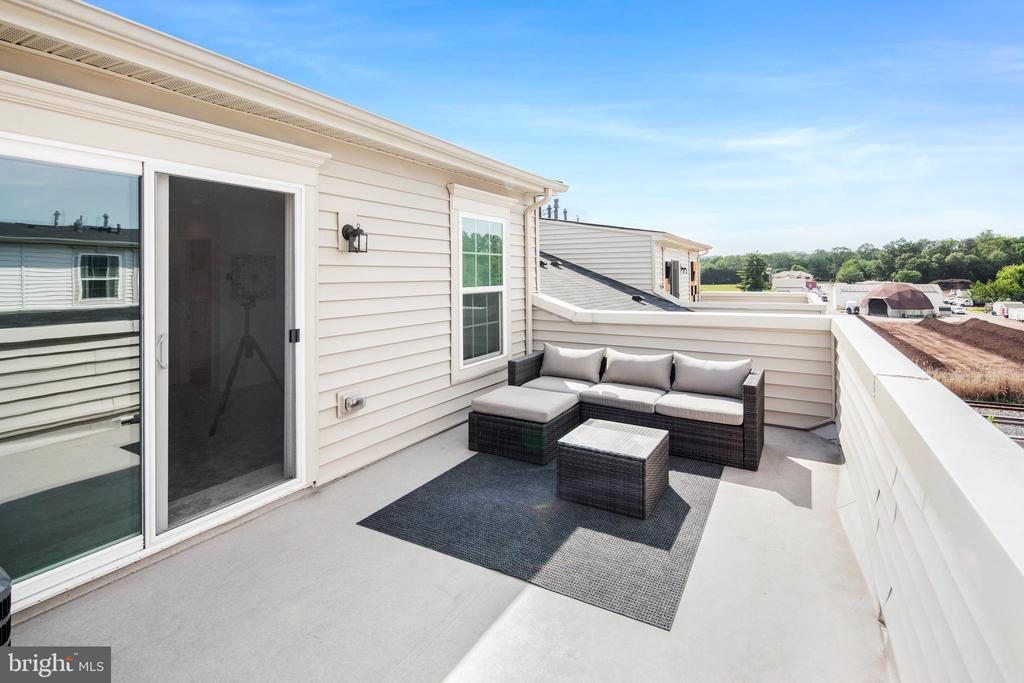 Incredible views from your rooftop! - 8206 MINER ST, GREENBELT