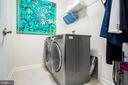 Laundry space adjacent to Master - 8206 MINER ST, GREENBELT