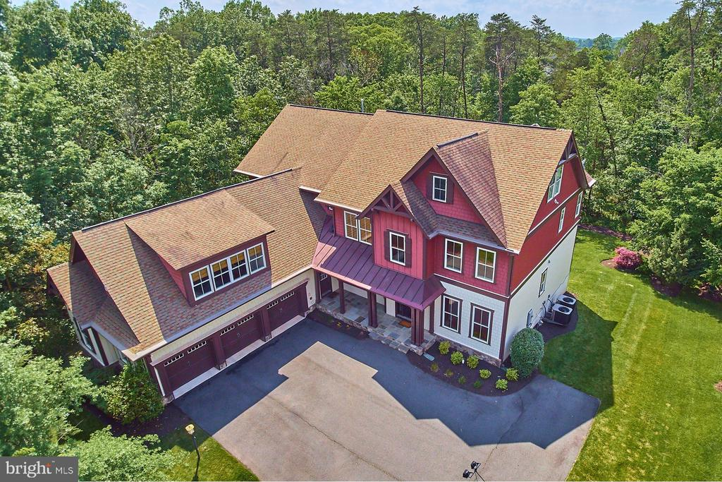 Aerial View of the Colden Model - 14428 EAGLE ISLAND CT, GAINESVILLE