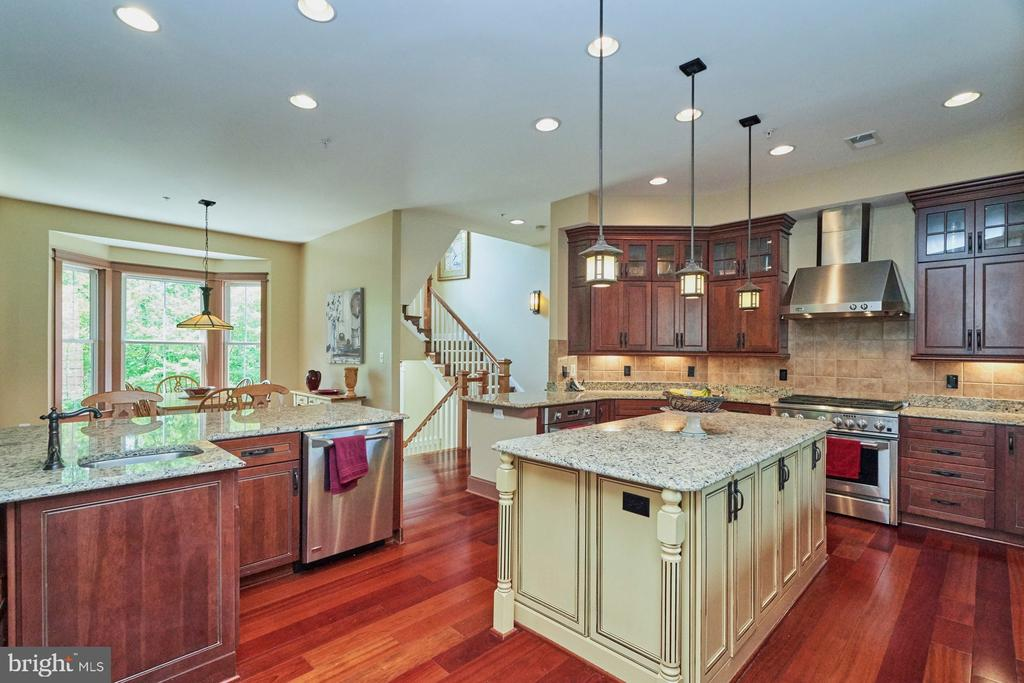 Upgraded Kitchen Cabinets  & Pendant Lights - 14428 EAGLE ISLAND CT, GAINESVILLE