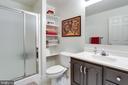 Lower level full bath - 11016 DORSCH FARM RD, ELLICOTT CITY