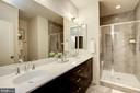 Stunning en-suite Master Bathroom - 16636 CRABBS BRANCH WAY, ROCKVILLE