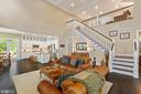 It's ok to stair. - 17076 SILVER ARROW DR, DUMFRIES