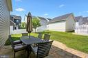 Good sized backyard - 22362 BRIGHT SKY DR, CLARKSBURG