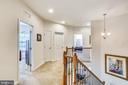 Upstairs hallway - 22362 BRIGHT SKY DR, CLARKSBURG