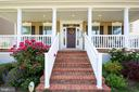 Beautiful Brick steps to front porch - 22362 BRIGHT SKY DR, CLARKSBURG