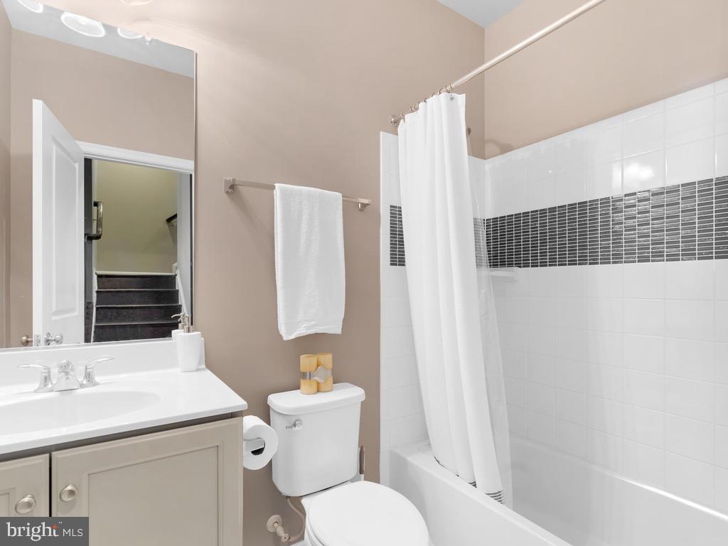Full Bath on Lower Level - 23687 TURTLE POINT TER, ASHBURN