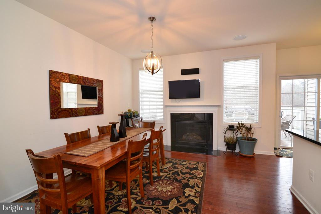 Gas fireplace - 43275 MITCHAM SQ, ASHBURN